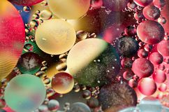 Färgrik abstrakt bakgrundsdesign Arkivfoto