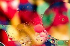Färgrik abstrakt bakgrundsdesign Royaltyfria Foton