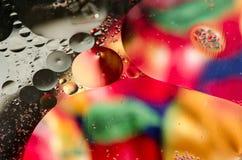 Färgrik abstrakt bakgrundsdesign Arkivbild