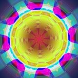 färgrik abstrakt cirkel Royaltyfri Bild