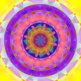 färgrik abstrakt cirkel Royaltyfria Bilder