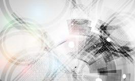 Färgrik abstrakt geometrisk bakgrund för design stock illustrationer