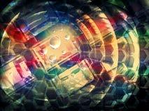 Färgrik abstrakt kreativitetbegreppsbakgrund Royaltyfria Foton