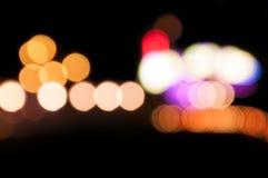 Färgrik abstrakt ljus bokeh Royaltyfri Foto