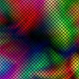 Färgrik abstrakt mosaikvektorbakgrund Royaltyfri Bild