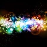 Färgrik abstrakt partibakgrund royaltyfri fotografi