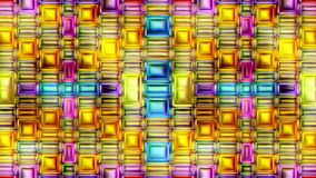 Färgrik abstrakt sömlös illustration för video för vertikal rörelse för textur 3D vektor illustrationer