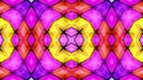 Färgrik abstrakt sömlös illustration för video för vertikal rörelse för textur 3D royaltyfri illustrationer