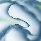 Färgrik abstrakt sammansättning med blå kräpp Royaltyfria Foton