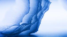 Färgrik abstrakt sammansättning med blå kräpp Royaltyfria Bilder