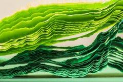 Färgrik abstrakt sammansättning med kräpp Royaltyfria Foton