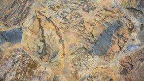 Färgrik abstrakt stentexturbakgrund Royaltyfri Foto