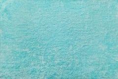 Färgrik abstrakt textur för blå mintkaramellvelour Royaltyfria Bilder
