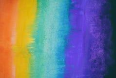 Färgrik abstrakt vattenfärgbakgrund tecknad hand wallpaper royaltyfria foton