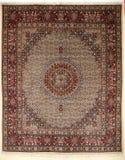 färgrik arabisk matta handcraft islamisk perser arkivbild
