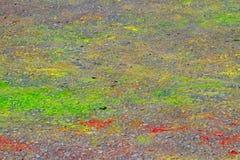 Färgrik asfalt Royaltyfri Foto