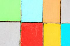 färgrik bakgrund Arkivbilder