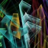 färgrik bakgrund Royaltyfri Fotografi