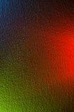 färgrik bakgrund Blandande olika färger av ljus Arkivfoto