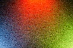 färgrik bakgrund Blandande olika färger av ljus Arkivfoton