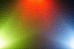 färgrik bakgrund Blandande olika färger av ljus Royaltyfri Fotografi