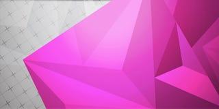 Färgrik bakgrund för abstrakt färgrikt triangelbakgrundsabstrakt begrepp Arkivfoto