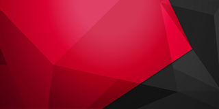Färgrik bakgrund för abstrakt färgrikt triangelbakgrundsabstrakt begrepp Royaltyfria Bilder