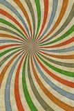 Färgrik bakgrund för abstrakt tappning Royaltyfri Bild