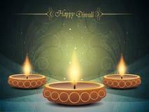 Färgrik bakgrund för diwali   Arkivbild