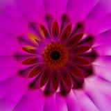 färgrik bakgrund för Fractal 3D Arkivbild