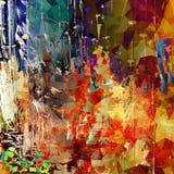 Färgrik bakgrund för Grunge Fotografering för Bildbyråer
