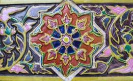 Färgrik bakgrund för keramisk tegelplatta Royaltyfria Bilder