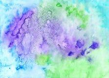 Färgrik bakgrund för konstverk Handwork texturerad bakgrund i gr Royaltyfri Bild