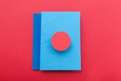 Färgrik bakgrund för materiell design Royaltyfria Bilder