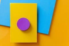 Färgrik bakgrund för materiell design Arkivbilder