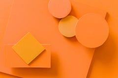 Färgrik bakgrund för materiell design Royaltyfri Fotografi