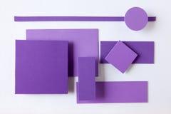 Färgrik bakgrund för materiell design Arkivfoton