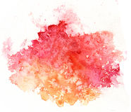 Färgrik bakgrund för vattenfärgfärgstänkvit Fotografering för Bildbyråer