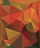 Färgrik bakgrund för vektor av trianglar Fotografering för Bildbyråer