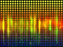 Färgrik bakgrund med strålar stock illustrationer