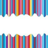 Färgrik bakgrund med utrymme för ditt meddelande Arkivbild