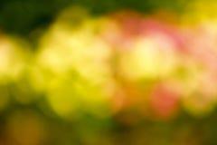 färgrik bakgrundsbokeh Royaltyfria Bilder