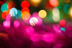 färgrik bakgrundsjul Royaltyfria Bilder