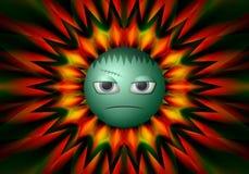 Färgrik bakgrundstextur för jäkel för websites Royaltyfria Bilder