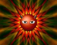 Färgrik bakgrundstextur för jäkel för websites Royaltyfria Foton