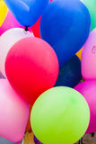 färgrik ballon Arkivbilder