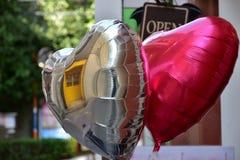 färgrik ballong Arkivfoto