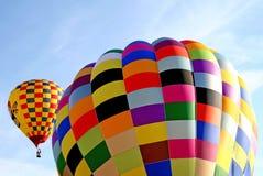 färgrik ballong Arkivfoton