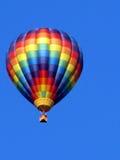 Färgrik ballong för varm luft Royaltyfria Bilder