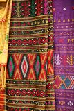 färgrik batik Royaltyfri Fotografi